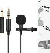 Goodlux microfoon voor camera - Telefoon - Videocamera - PC - Laptop – Smartphone – Condensator microfoon - Aux aansluiting met adapter – Met clip – Clip on