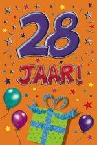 Leeftijdkaart 28 funny age