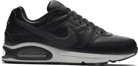 Nike Air Max Command Leather Sneaker Heren - Zwart/Neutral Grey/Anthracite - Maat 47