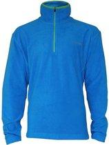 Campri Micro Fleece Pully met 1/4 rits - Sporttrui - Heren - Maat XXL - Blauw
