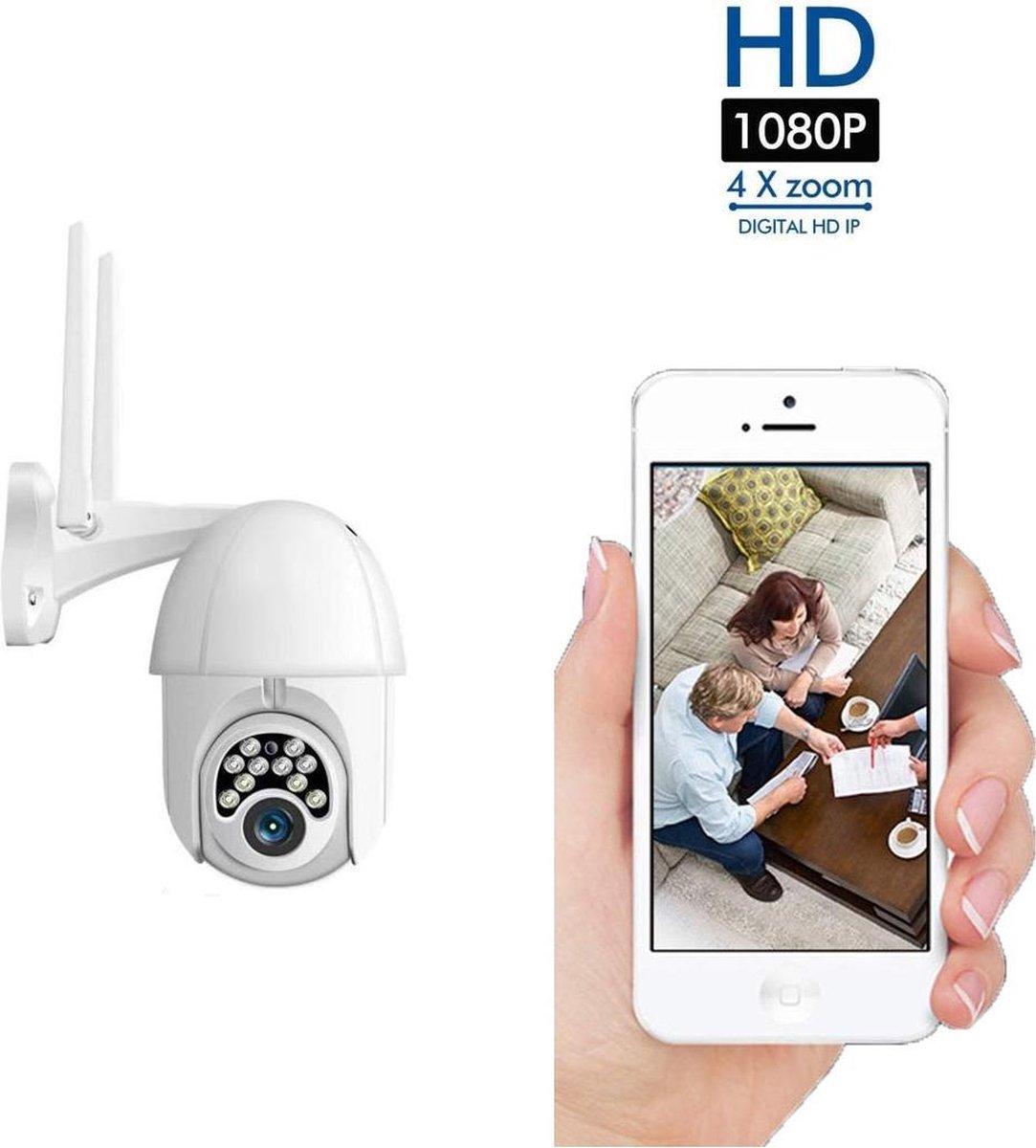 Beveiligingscamera - Waterdicht - 1080P - IP66 - Draai- en kantelbaar - Voor buiten