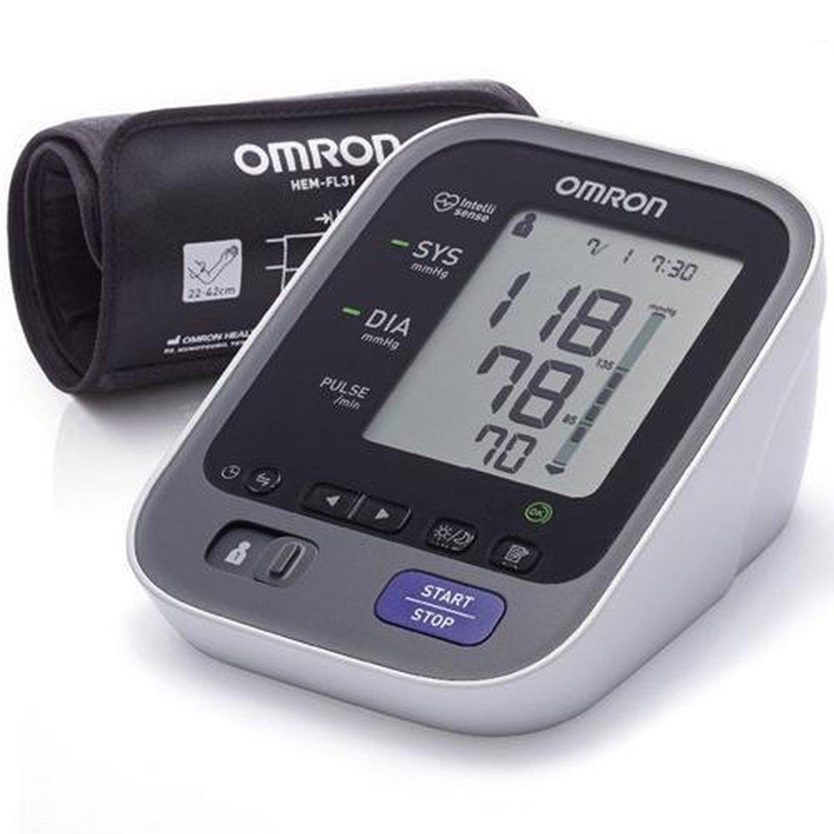 Omron M7 - Bovenarm bloeddrukmeter - Omron