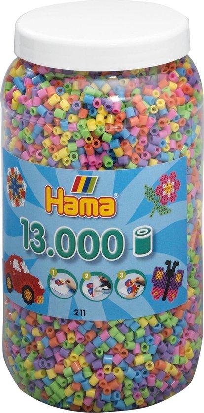 Hama Strijkkralen in een Ton