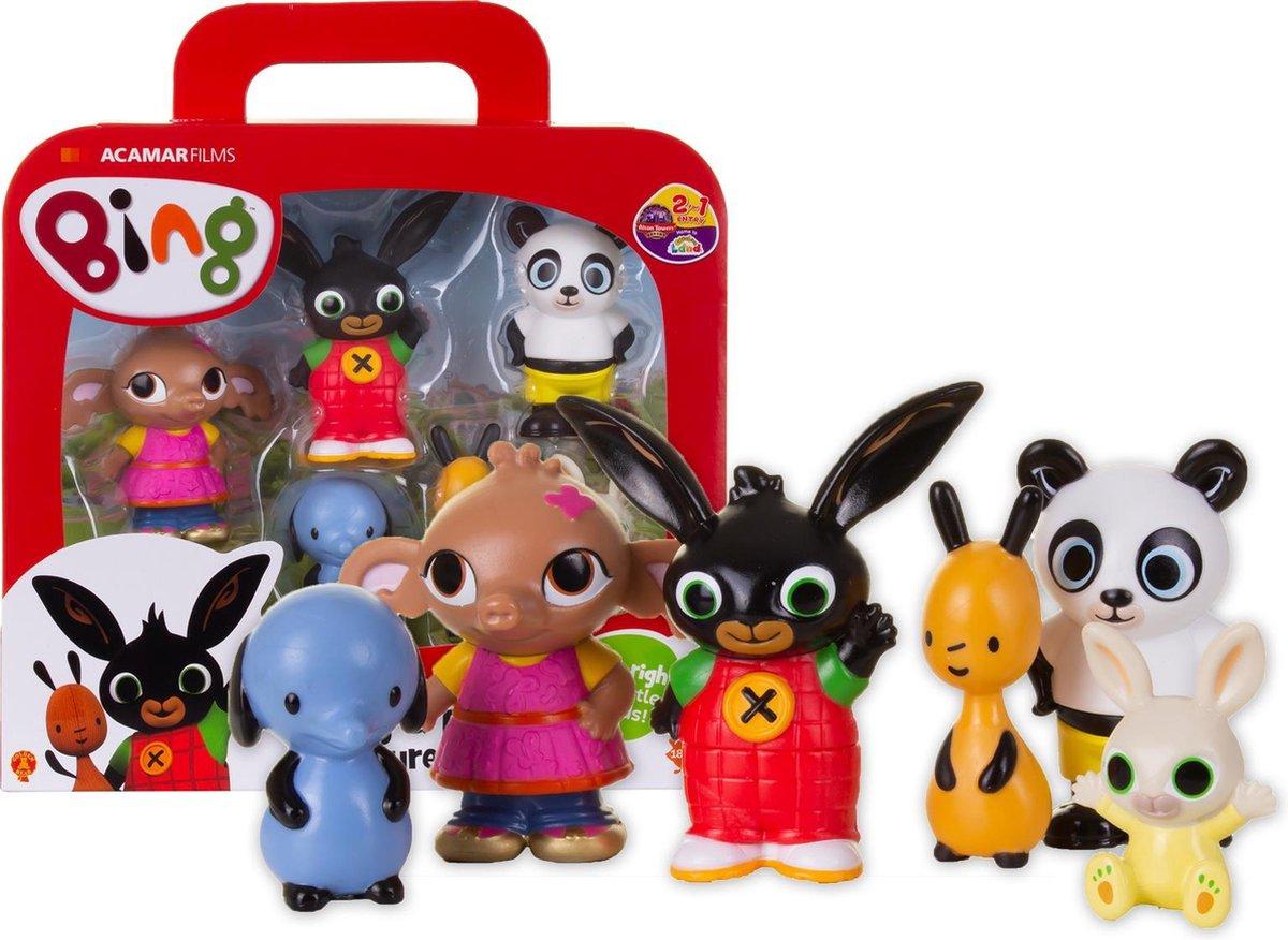 BING - Speelkoffer met 6 Speelfiguren