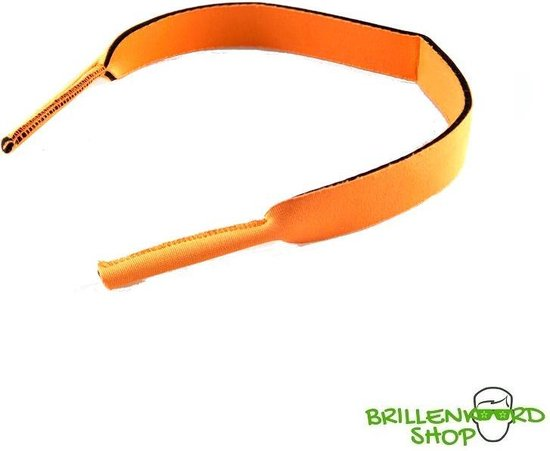 Brillenkoord - Brilband - Sport - Watersport - Neopreen - Oranje