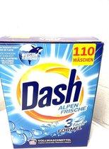 Dash Universeel waspoeder - XXL Pack - 110 wasbeurten