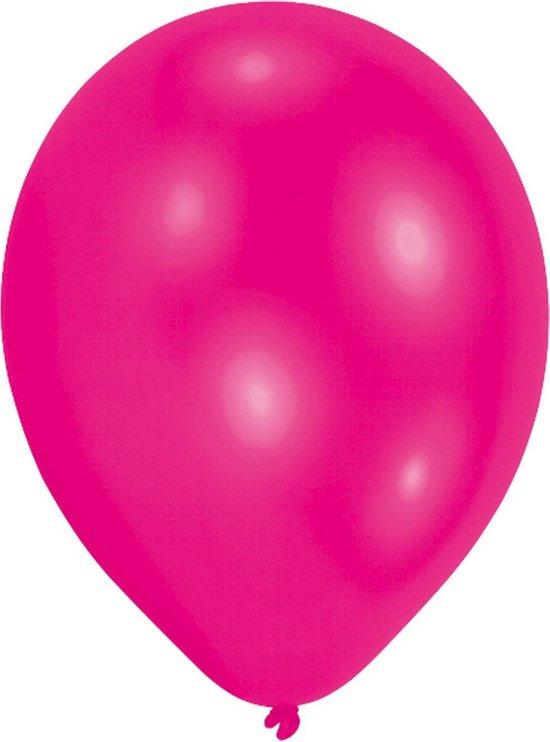 Amscan Ballonnen Felroze 27,5 Cm 25 Stuks