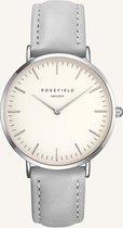 Rosefield The Bowery Dames Horloge - Zilver Grijs Ø38mm - BWGS-B10