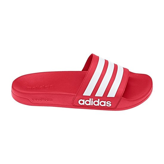 adidas CF Adilette Slippers Volwassenen - Rood - Maat 37