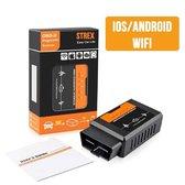 Strex OBD2 Auto scanner met WiFi - OBD - Android & IOS - Auto Uitlezen - Auto Diagnose via telefoon - Auto motorlampje uitlezen - Bluetooth alternatief