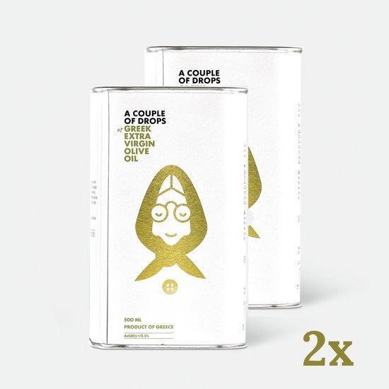 Griekse olijfolie | A couple of drops | 500 ml in blik