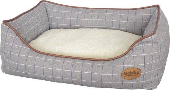 Nobby comfortbed remo grijs 75 x 60 x 23 cm