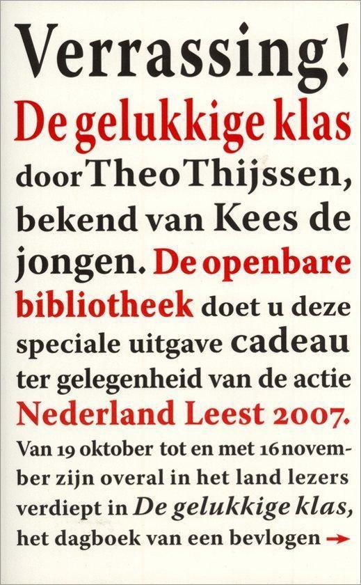 De gelukkige klas - Theo Thijssen pdf epub