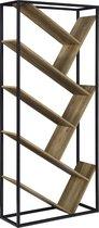 [en.casa]® Boekenkast - Schap - 3kg per planken