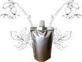 Rozenbottel olie - navulling 100ml pouch met schenkmond (hersluitbaar)