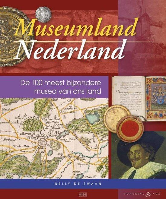 Cover van het boek 'Museumland Nederland'