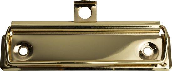 LPC Papierklem Klembordklem goud - 100 mm - 20 stuks