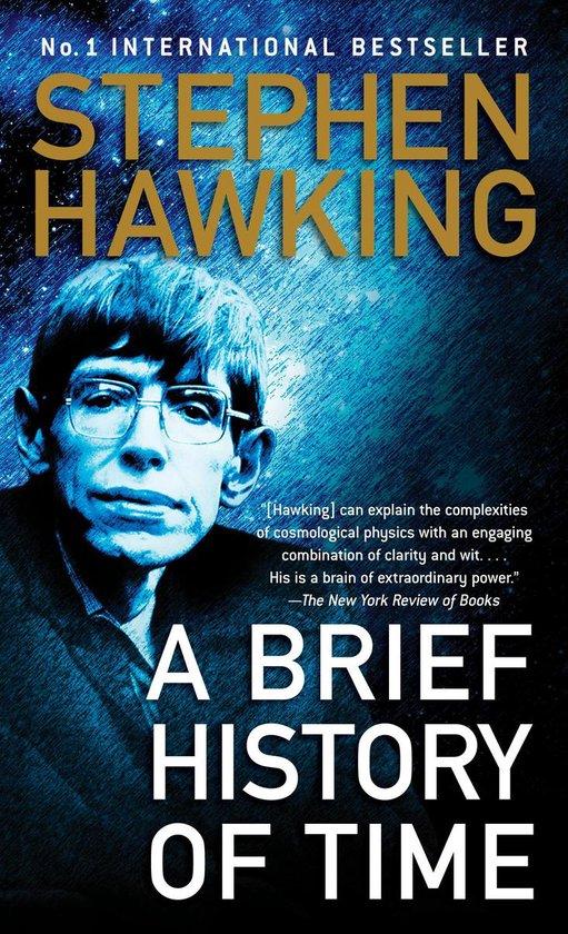 Boek cover A Brief History of Time van Stephen Hawking (Paperback)