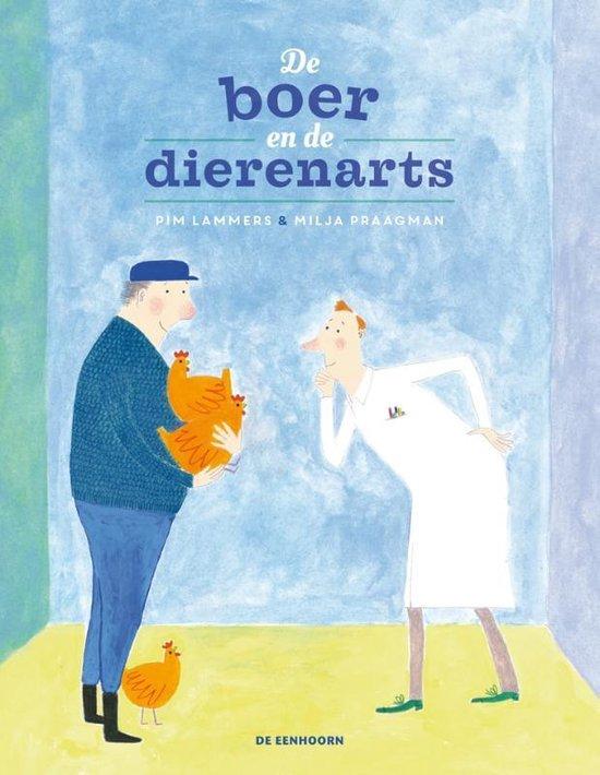Boek cover De boer en de dierenarts van Pim Lammers (Hardcover)