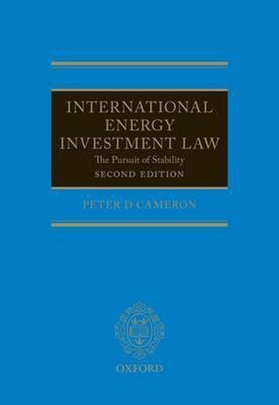 Afbeelding van International Energy Investment Law
