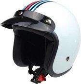 Redbike RB-768 retro jethelm m-racing | maat S