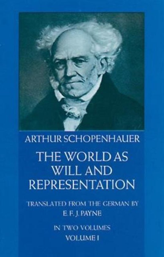 Boek cover The World as Will and Representation, Vol. 1 van Arthur Schopenhauer (Paperback)