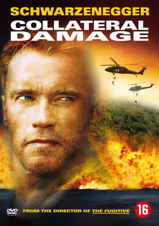 Cover van de film 'Collateral Damage'