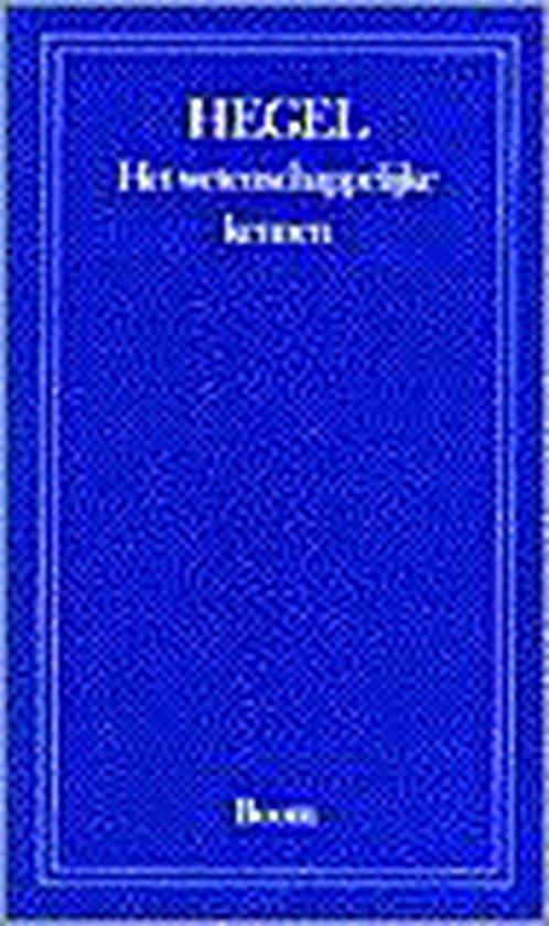 WETENSCHAPPELIJKE KENNEN, HET (BK) - G. Hegel   Fthsonline.com