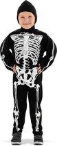 Skelet Kinderkostuum Maat M - 116/128 - 6-8 jaar