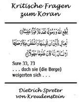 Kritische Fragen zum Koran