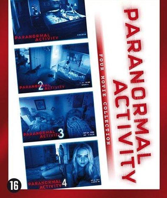 Cover van de film 'Paranormal Activity 1 t/m 4'