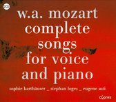Mozart, The Complete Songs For Voice And Piano