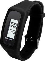 Digitale LCD Stappenteller - Run Stap - Calorie - Loopafstand - Teller - Stappenteller - Zwart