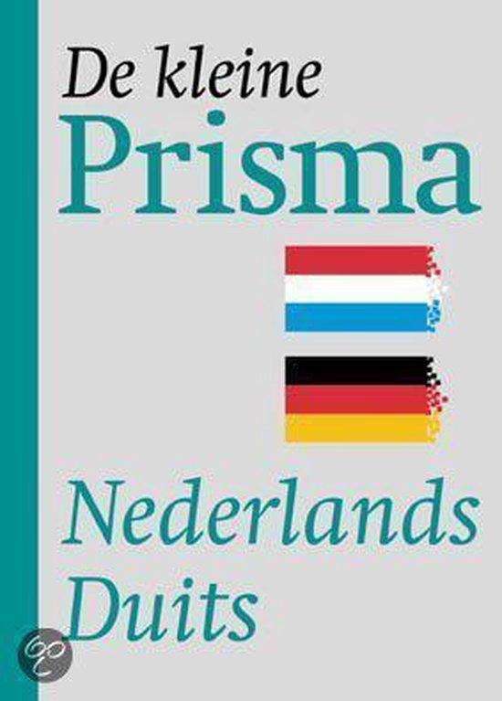 Boek cover PRISMA KLEIN NEDERLANDS-DUITS van G.A.M.M. van der Linden (Paperback)