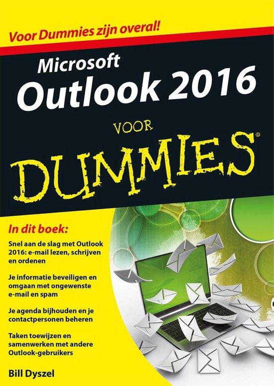 Voor Dummies - Microsoft Outlook 2016 voor Dummies - Bill Dyszel |