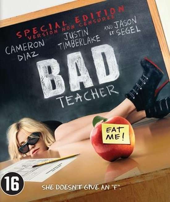 Cover van de film 'Bad Teacher'