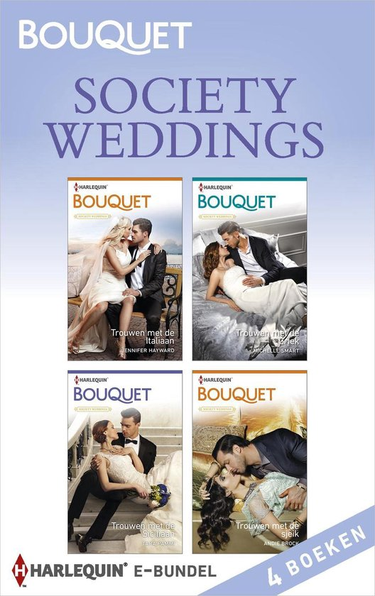 Bouquet Bundel - Society weddings (4-in-1) - Jennifer Hayward |