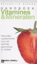 Boek cover Handboek Vitamines En Mineralen van Amanda Ursell