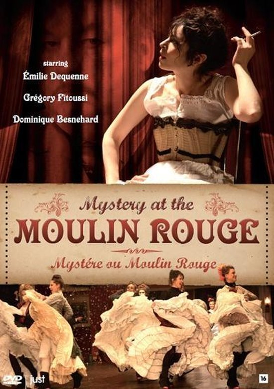 Cover van de film 'Mystery At The Moulin Rouge'