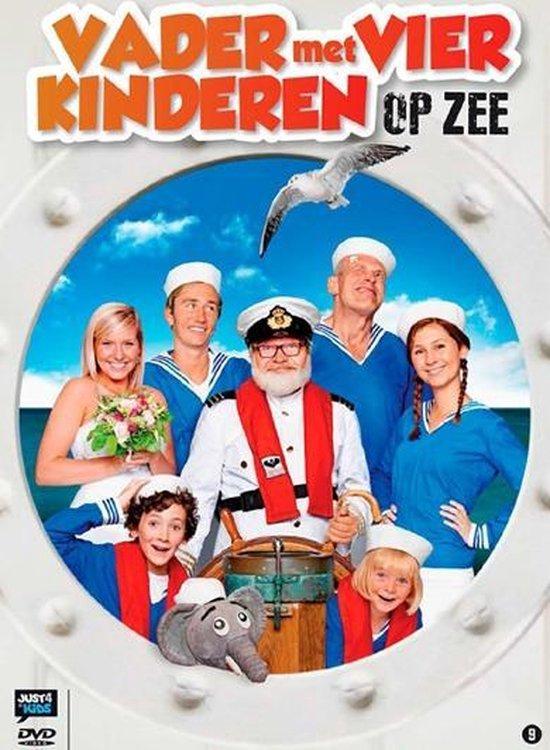 Cover van de film 'Vader Met 4 Kinderen - Op Zee'