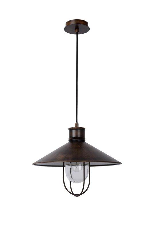 Lucide Baarn - Hanglamp - Ø38 cm - Koper