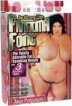 Opblaasbare Liefdes Pop Fatima Fong Corpulent en zeer Gewillig – Geprint Gezicht