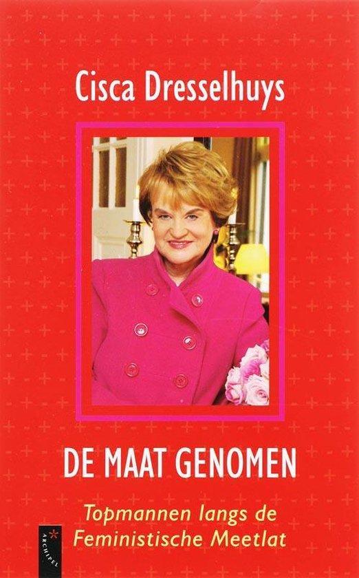 Cover van het boek 'De maat genomen' van C. Dresselhuys