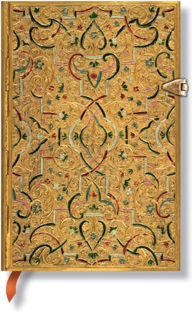 Paperblanks Gold Inlay Mini Lined Journal