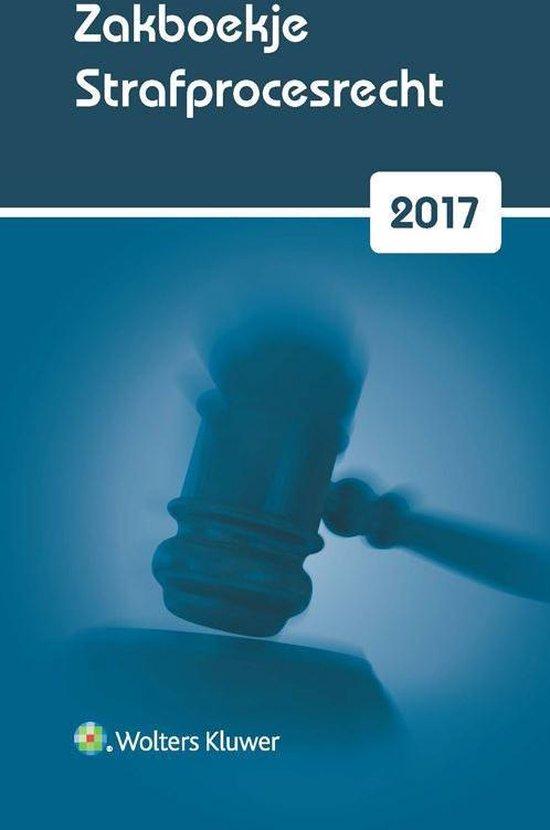 Zakboekje strafprocesrecht 2017 - none | Fthsonline.com