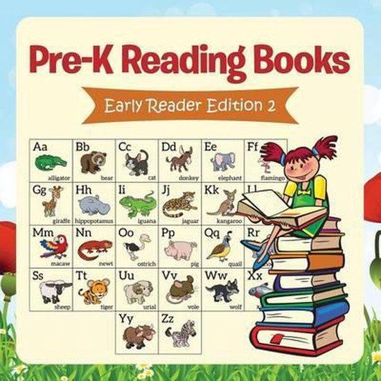 Boek cover Pre-K Reading Books van Speedy Publishing Llc (Paperback)