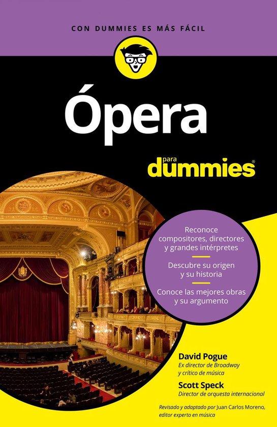 Afbeelding van Ópera para Dummies