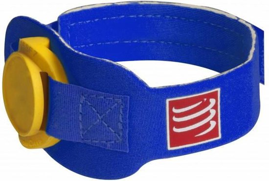 Compressport Timing Chip Strap - Blue