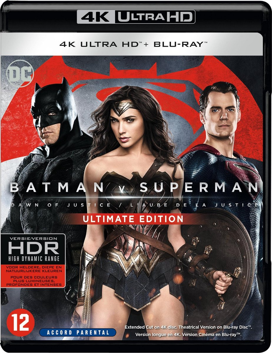 Batman v Superman: Dawn of Justice (4K Ultra HD Blu-ray)-