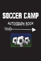 Soccer Camp Autograph Book